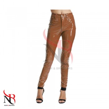 Leather Women Pants
